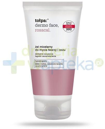 Tołpa Dermo Face Rosacal żel micelarny do mycia twarzy i oczu 150 ml