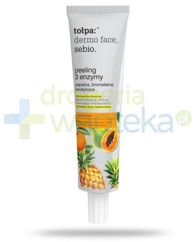Tołpa Dermo Face Sebio peeling 3 enzymy 40 ml
