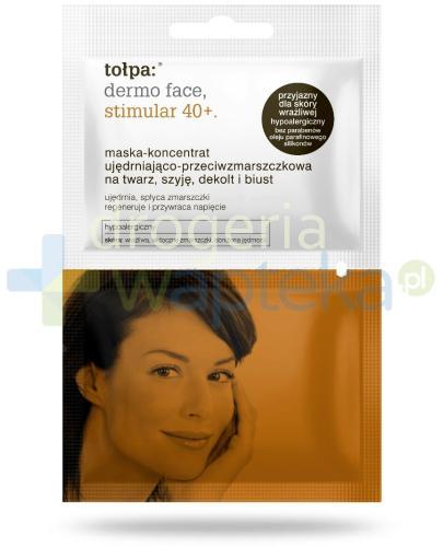 Tołpa Dermo Face Stimular 40+ maska-koncentrat ujędrniająco-przeciwzmarszczkowa na twar...