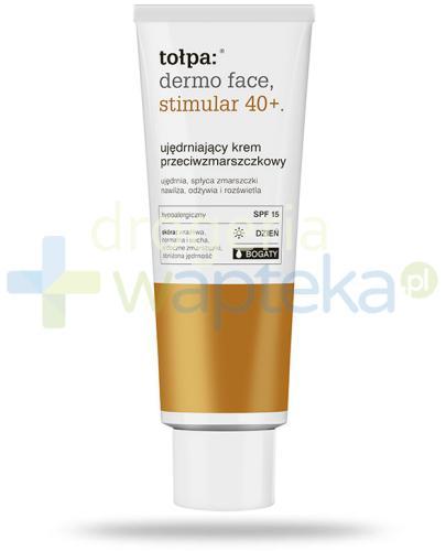 Tołpa Dermo Face Stimular 40+ ujędrniający krem SPF15 przeciwzmarszczkowy bogaty na dzi...