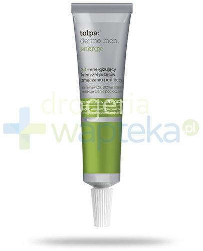 Tołpa Dermo Men Energy 30+ energizujący krem-żel przeciw zmęczeniu pod oczy 10 ml
