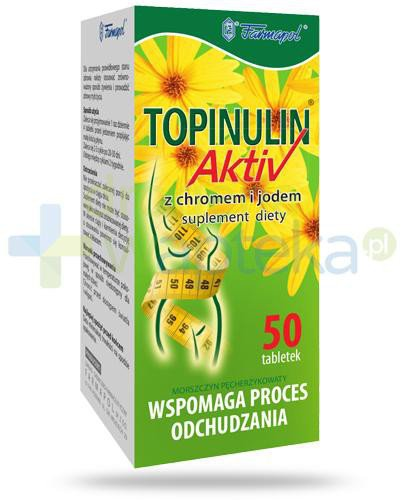 Topinulin Activ 50 tabletek  whited-out