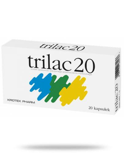 Trilac 20 20 kapsułek [Data ważności 31-10-2020]