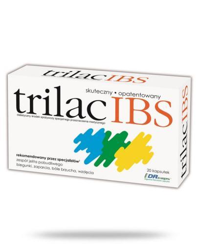 Trilac IBS 20 kapsułek   whited-out