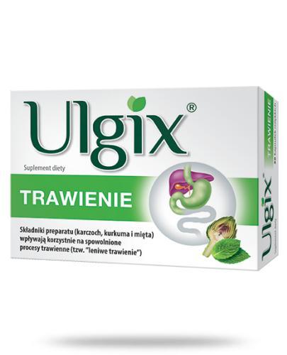 Ulgix Trawienie 15 kapsułek
