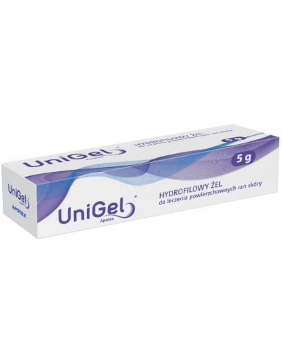 UniGel hydrofilowy żel przyspieszający gojenie ran 5 g
