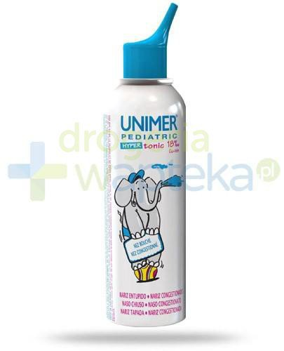 Unimer Pediatric Hypertonic hipertoniczny spray do nosa 100 ml