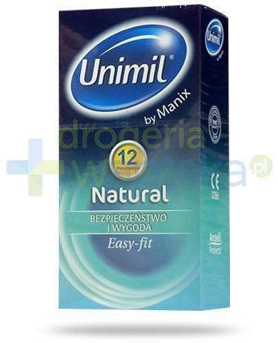 Unimil Natural by Manix prezerwatywy 12 sztuk