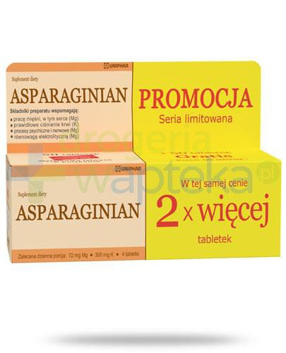 Uniphar Asparaginian 2x 50 tabletek