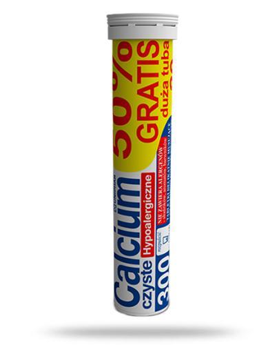 Uniphar Calcium 300 czyste Hypoalergiczne 20 tabletek musujących