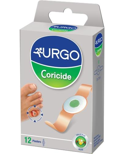 Urgo Coricide plastry na odciski z kwasem salicylowym 12 sztuk