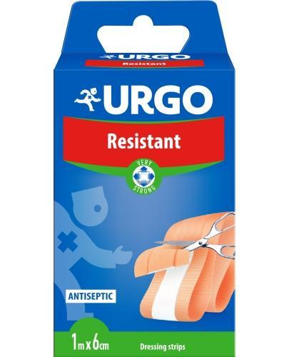 Urgo Resistant to opatrunek do cięcia z kompresem antyseptycznym 1m x 6cm