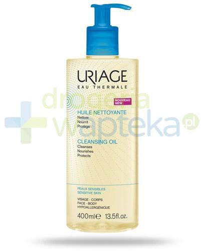 Uriage Eau Thermale olejek pod prysznic 400 ml  whited-out