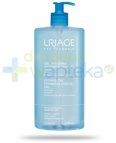 Uriage Eau Thermale dermatologiczny żel do mycia 1000 ml  whited-out