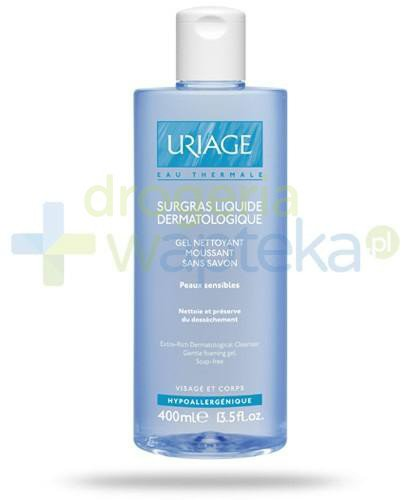 Uriage Eau Thermale dermatologiczny żel do mycia 400 ml  whited-out