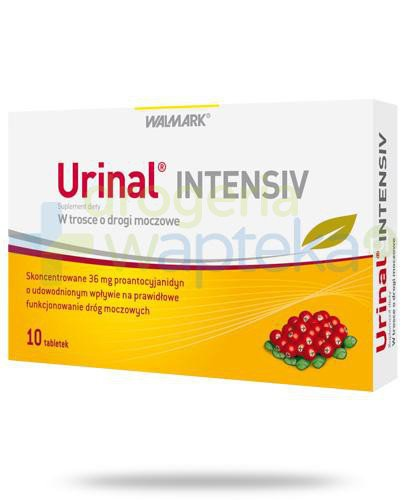 Urinal Intensiv 10 tabletek