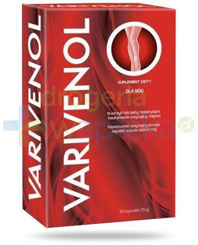 Varivenol dla nóg 30 kapsułek