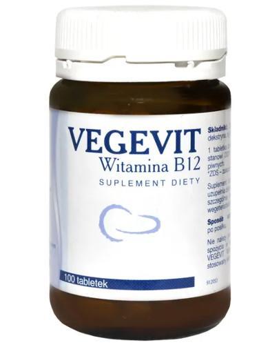 Vegevit Witamina B12 100 tabletek