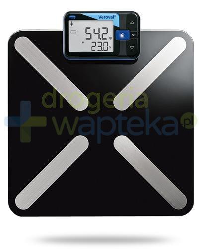 Veroval inteligentna waga elektroniczna i analizator składu ciała 1 sztuka  whited-out