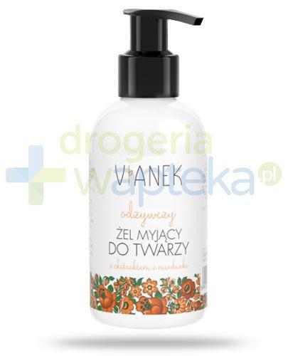 Vianek odżywczy żel myjący do twarzy z ekstraktem z miodunki 150 ml
