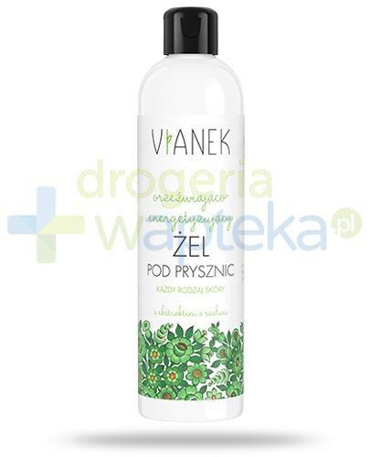 Vianek orzeźwiająco-energetyzujący żel pod prysznic z ekstraktem z szałwii 300 ml