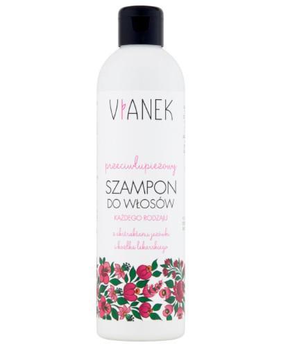 Vianek przeciwłupieżowy szampon do włosów z ekstraktami jeżówki i kozłka lekarskieg...