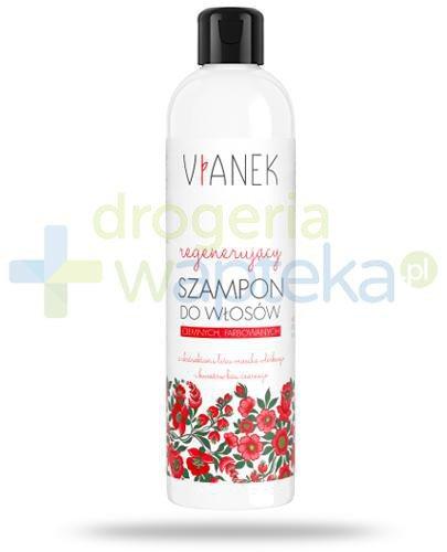 Vianek regenerujący szampon do włosów z ekstraktami liści orzecha włoskiego i kwiató...