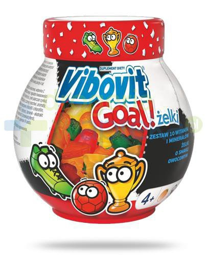 Vibovit Goal zestaw 10 witamin i minerałów dla dzieci 4+ 50 sztuk