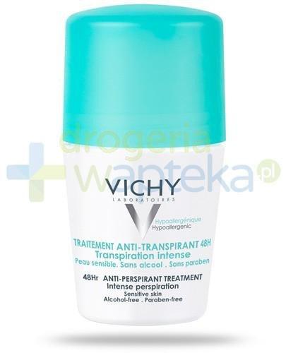 Vichy Anti-Transpirant 48h roll-on przeciw intensywnemu poceniu 50 ml