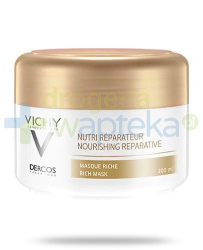 Vichy Dercos Nutri-Riparatore maska regenerująco naprawcza do włosów suchych 200 ml