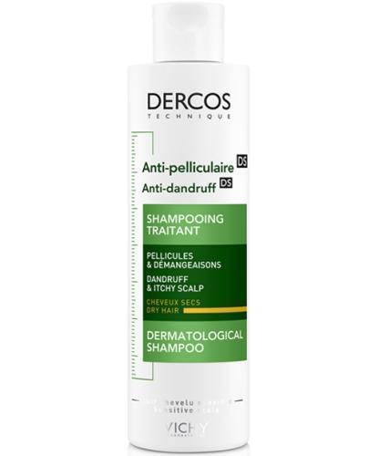 Vichy Dercos szampon przeciwłupieżowy do włosów suchych 200 ml