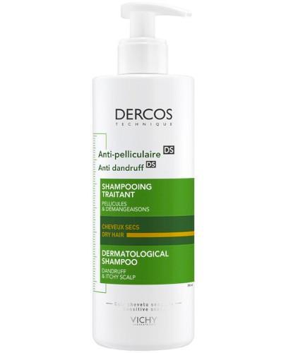 Vichy Dercos szampon przeciwłupieżowy do włosów suchych 390 ml