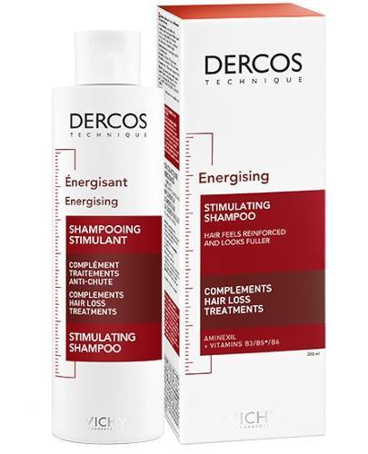 Vichy Dercos szampon wzmacniający włosy z aminexilem 200 ml