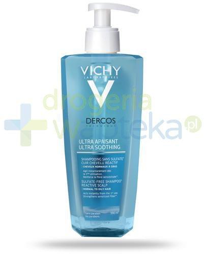 Vichy Dercos Ultra Sensitive szampon ultrakojący dla reaktywnej skóry głowy i włosów ...