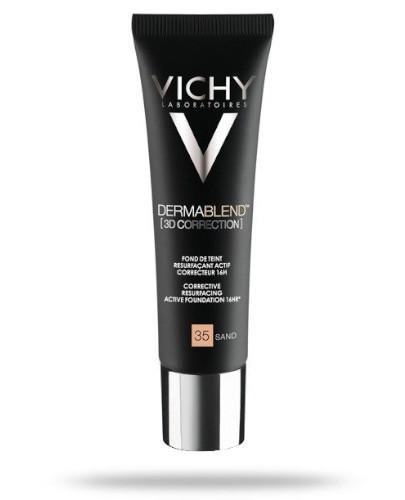 Vichy Dermablend 3D podkład wyrównujący powierzchnię skóry nr 35 SAND 30 ml