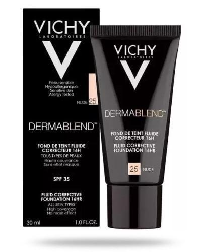 Vichy Dermablend fluid korygujący nr 25 o przedłużonej trwałości 30 ml