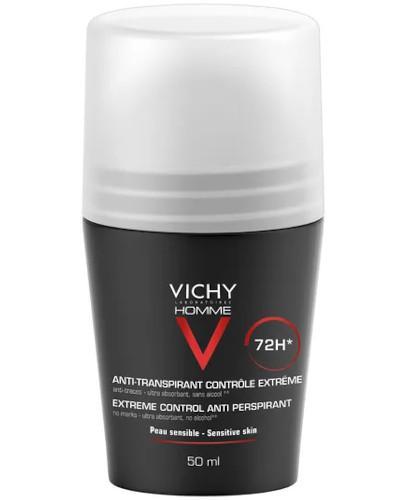 Vichy Homme antyperspirant w kulce 72h 50 ml