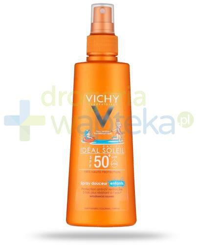 Vichy Ideal Soleil Capital SPF50+ delikatny spray dla dzieci 200 ml