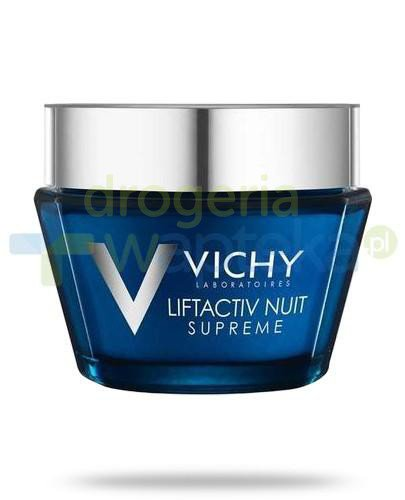 Vichy Liftactiv Night Supreme przeciwzmarszczkowa pielęgnacja ujędrniająca na noc do s...