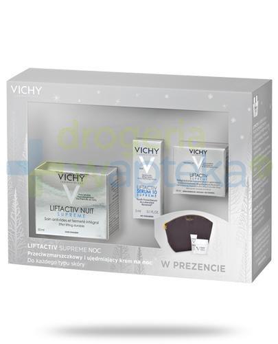 Vichy Liftactiv Supreme Noc przeciwzmarszczkowy i ujędrniający krem na noc do każdego t...