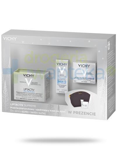 Vichy Liftactiv Supreme przeciwzmarszczkowy i ujędrniający krem na dzień do skóry such...