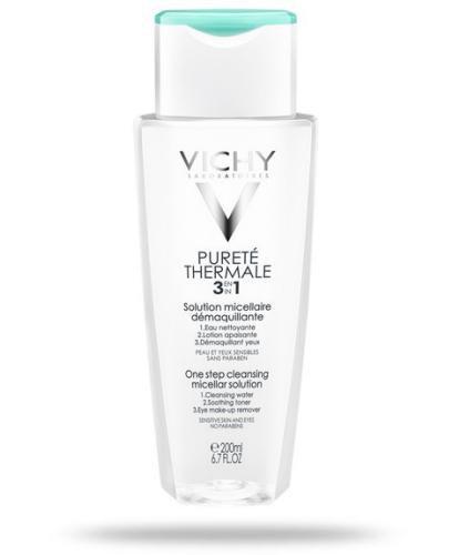 Vichy Purete Thermale 3w1 płyn micelarny do demakijażu 200 ml