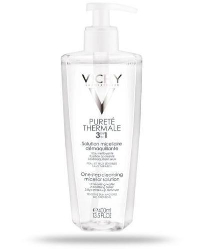 Vichy Purete Thermale 3w1 płyn micelarny do demakijażu 400 ml