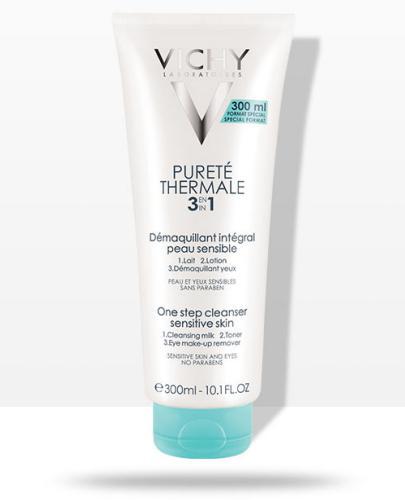 Vichy Purete Thermale preparat do demakijażu twarzy i oczu 3w1 odpowiedni dla skóry wrażliwej 300 ml