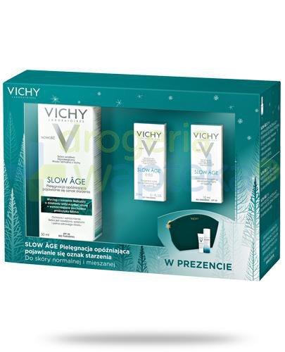 Vichy Slow Age kremowy fluid opóźniający efekty starzenia do skóry normalnej i mieszan...