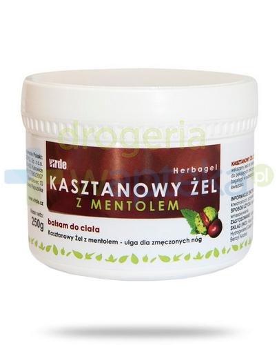 Virde Kasztanowy żel z mentolem 250 ml