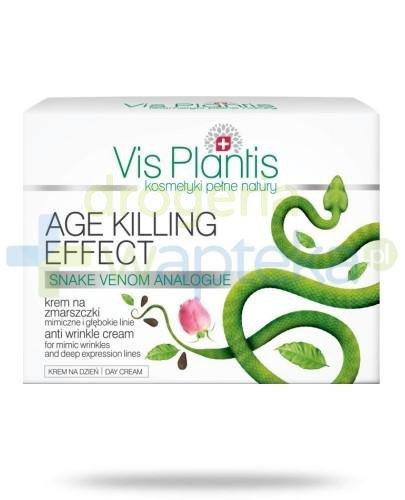 Vis Plantis Age Killing Effect Krem na zmarszczki mimiczne i głębokie linie na dzień 50 ml Elfa Pharm