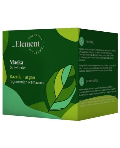 Vis Plantis Basil Element maska wzmacniająca przeciw wypadaniu włosów 200 ml Elfa Pharm