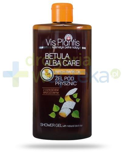 Vis Plantis Betula Alba Care żel pod prysznic z dziegciem brzozowym 300 ml Elfa Pharm