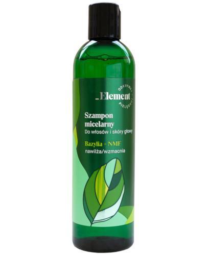Vis Plantis Element szampon micelarny do włosów i skóry głowy, bazylia + NMF 300 ml